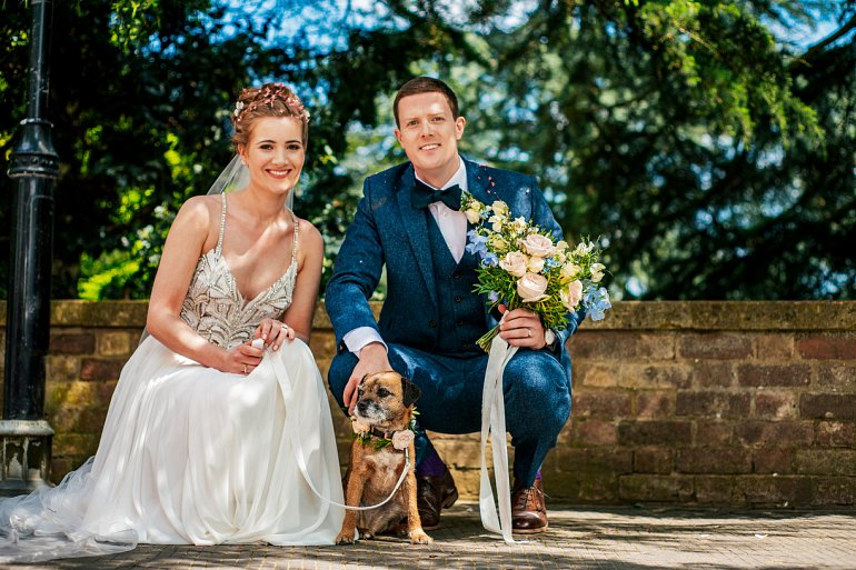 Early summer wedding flowers in Stratford-upon-Avon and Blackwell Grange, Cotswolds